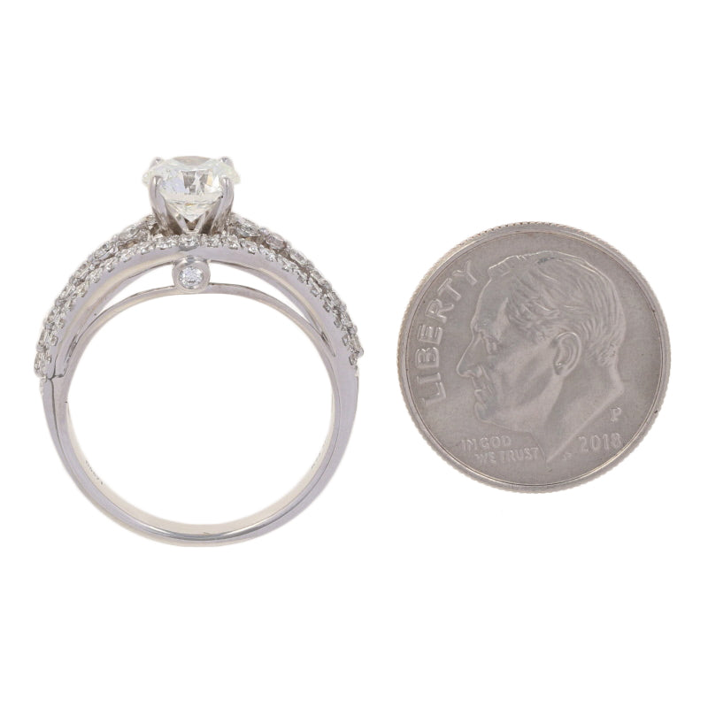 Diamond Engagement Ring 1.57ctw