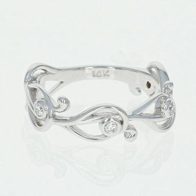 Diamond Swirl Ring .14ctw