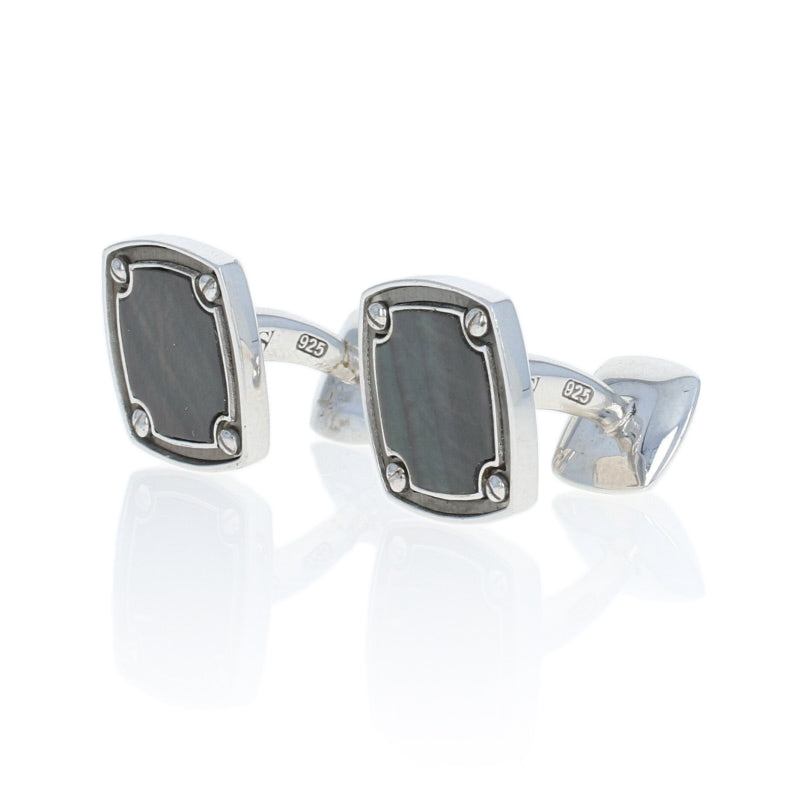 Stephen Webster Mother of Pearl Cufflinks Sterling Silver
