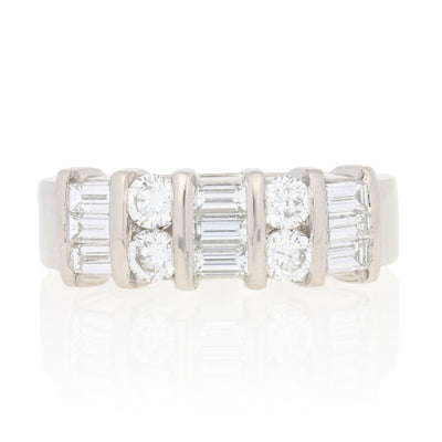1.02ctw Diamond Band Ring