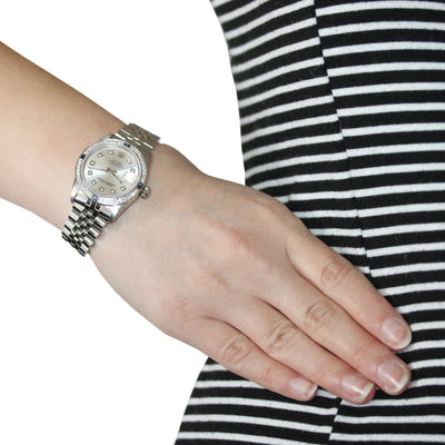 Rolex Oyster Perpetual Datejust Automatic Ladies Watch 68274