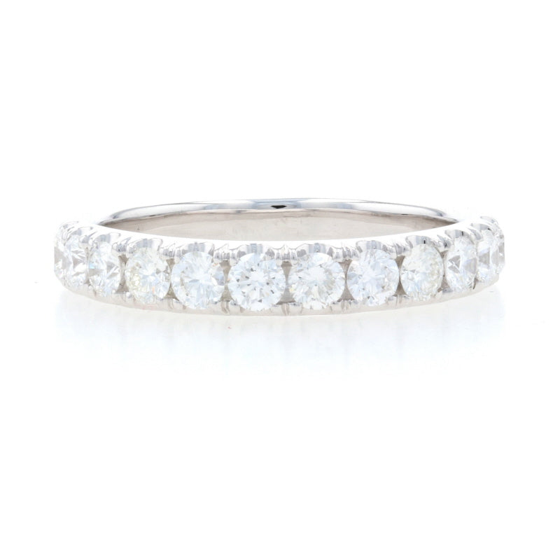 .86ctw Diamond French Set Ring White Gold