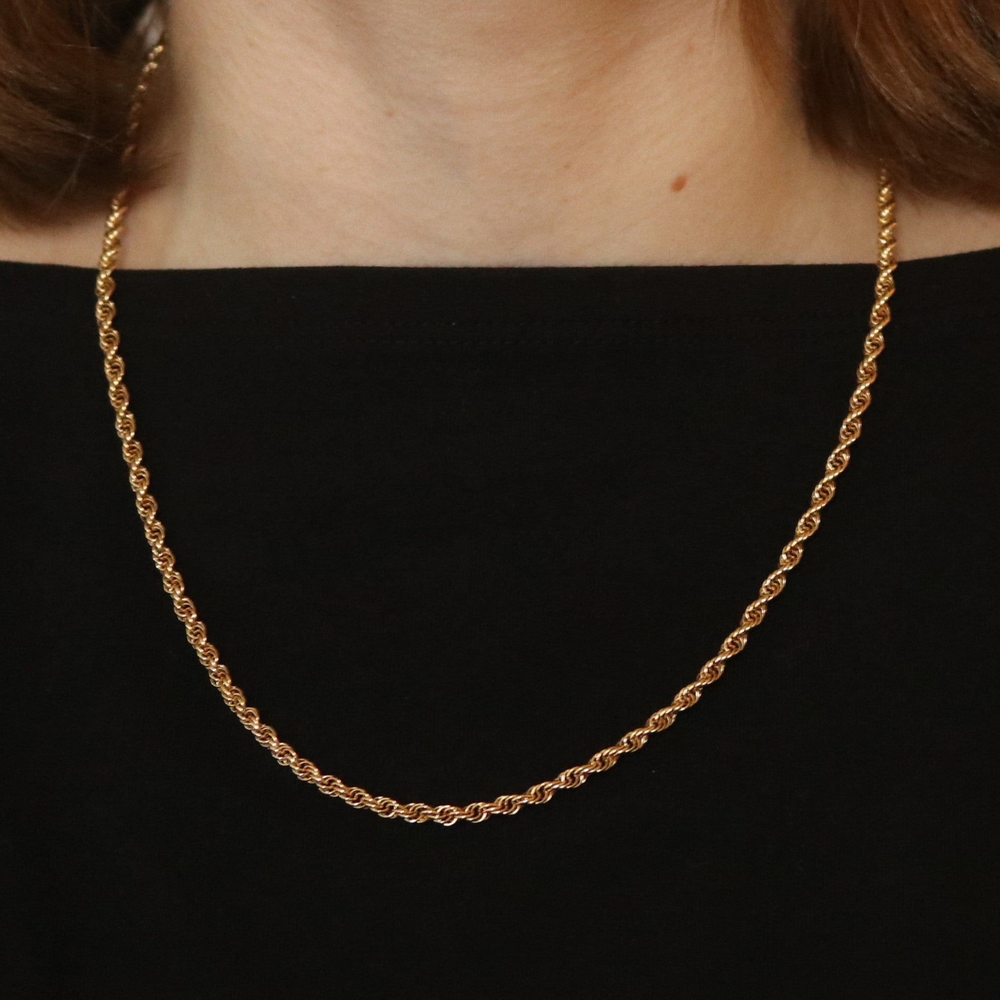 Prince of Wales Chain Necklace Yellow Gold