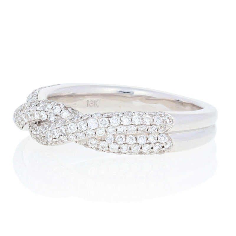 1.00ctw Diamond Twist Band