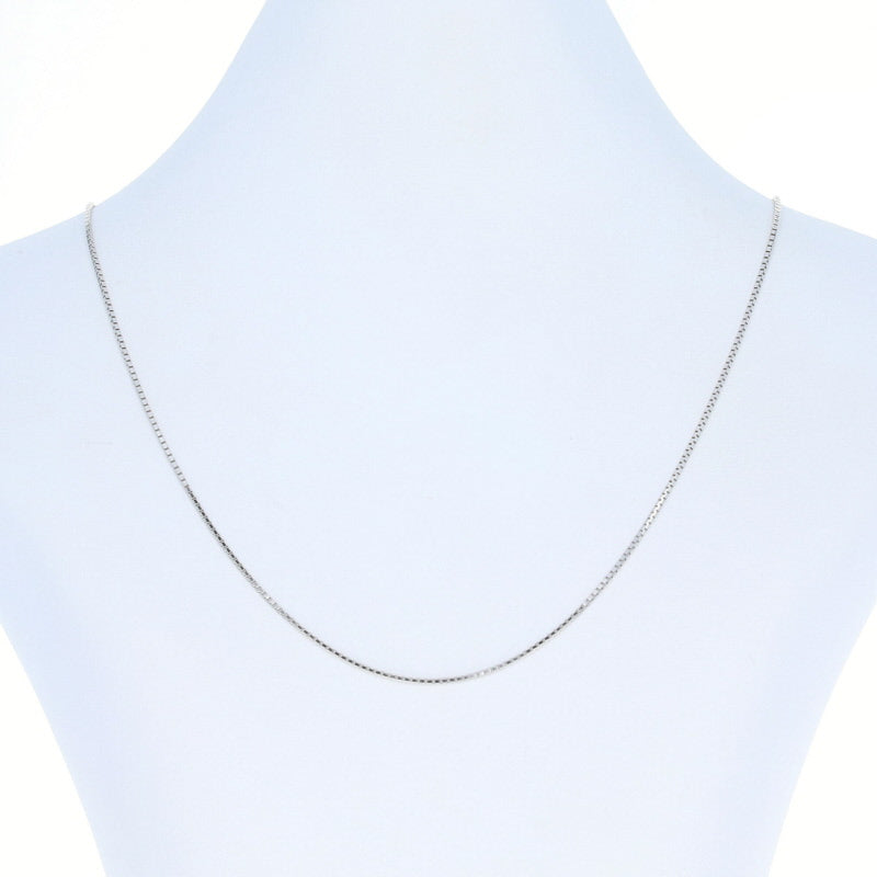 Box Chain Necklace 18""