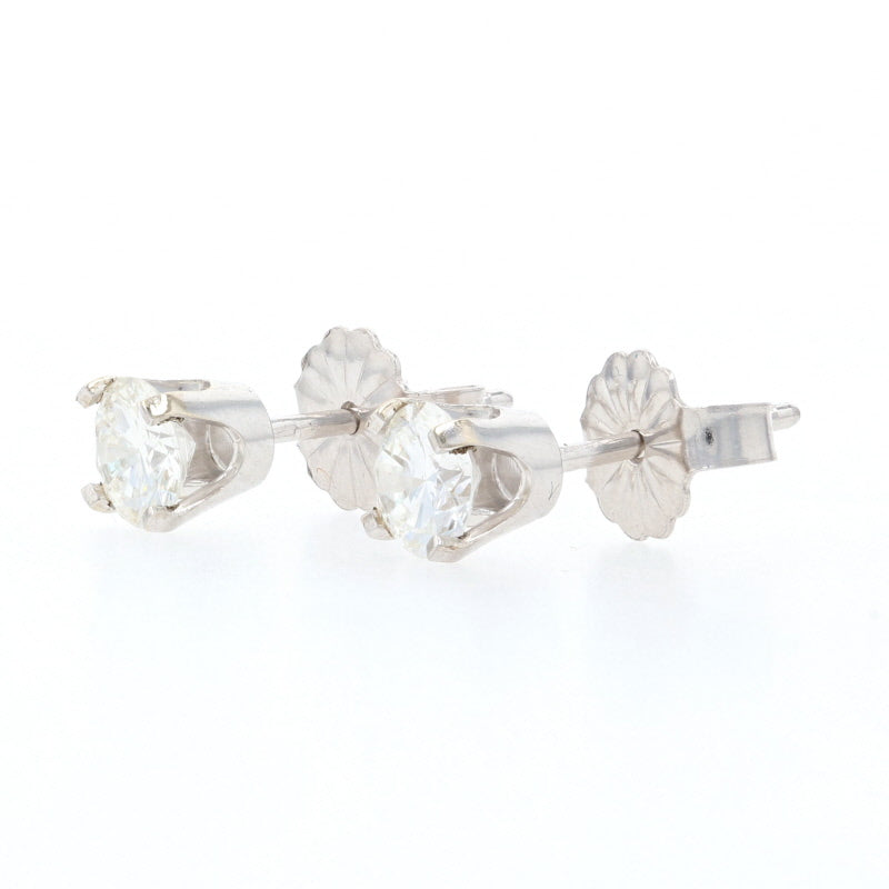 .60ctw Diamond Earrings White Gold