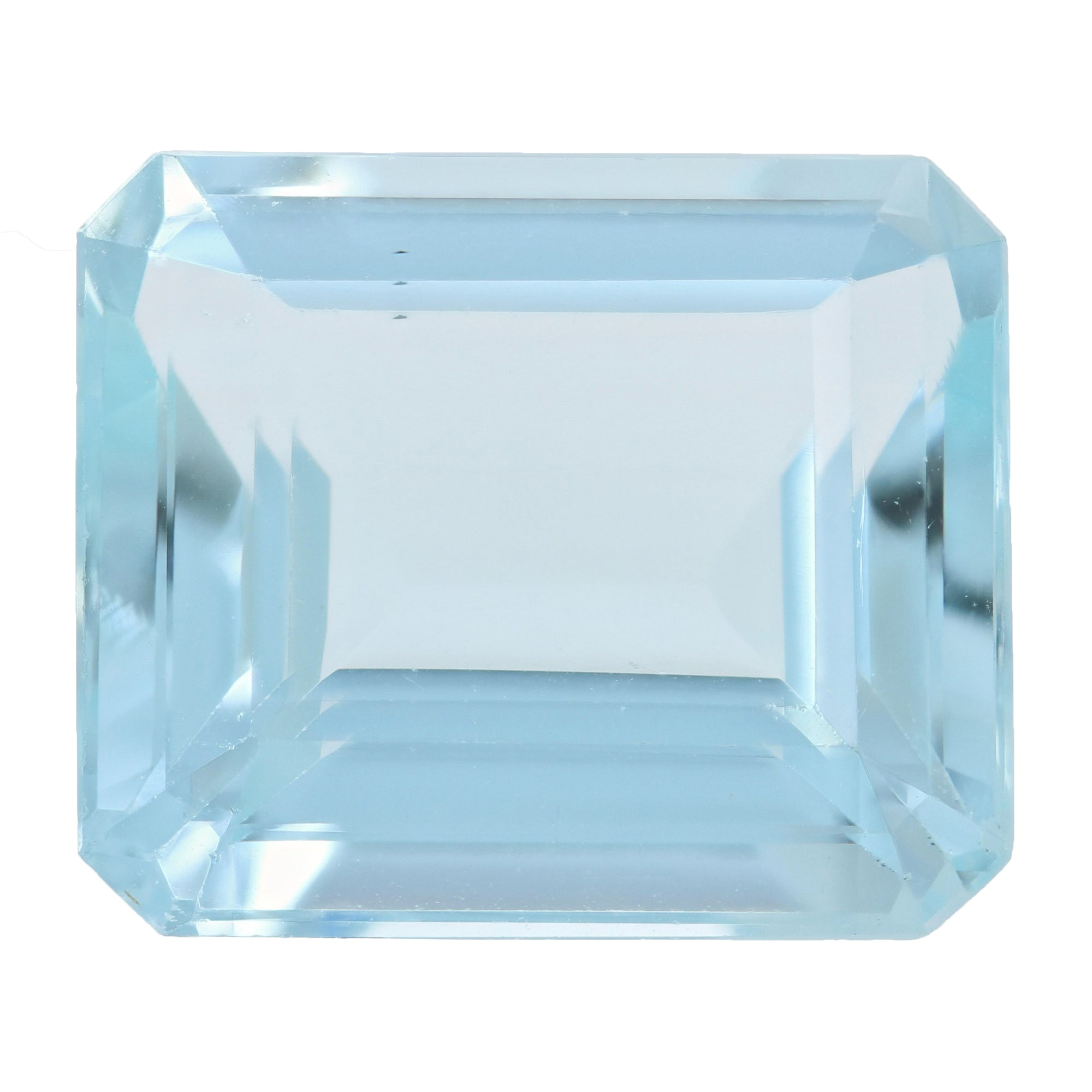 15.96ct Loose Aquamarine Rectangle