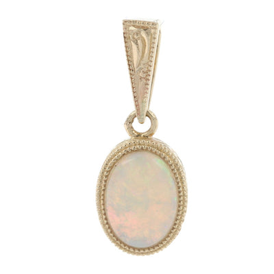 .61ct Opal Pendant Yellow Gold