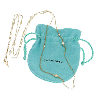 Tiffany & Co. Diamond Elsa Peretti Sprinkles Necklace 1.21ctw