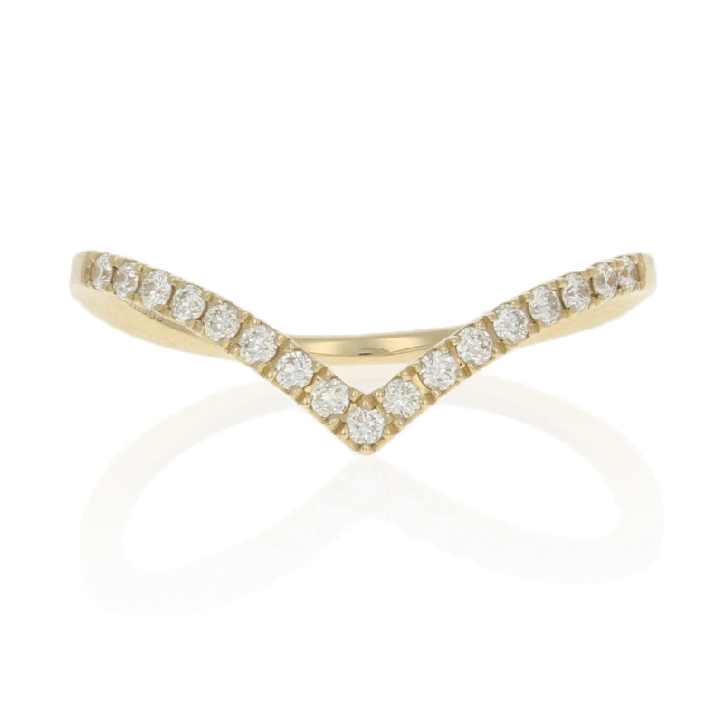 .19ctw Diamond Ring Yellow Gold