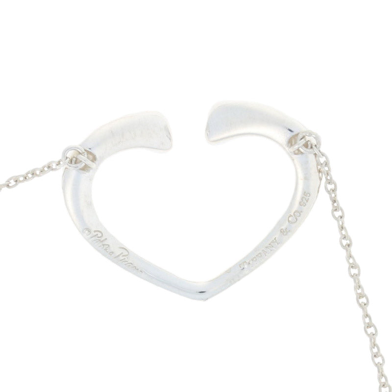 Tiffany & Co. Tenderness Heart Necklace Sterling Silver