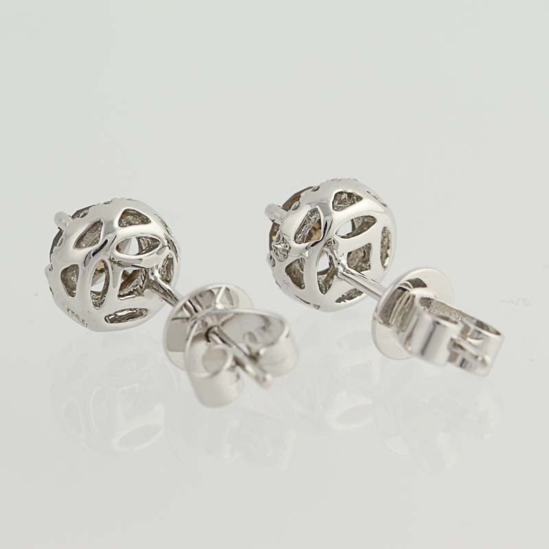 Diamond Stud Earrings  .94ctw