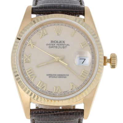 Rolex Oyster Perpetual Datejust Men's Watch Automatic  16248
