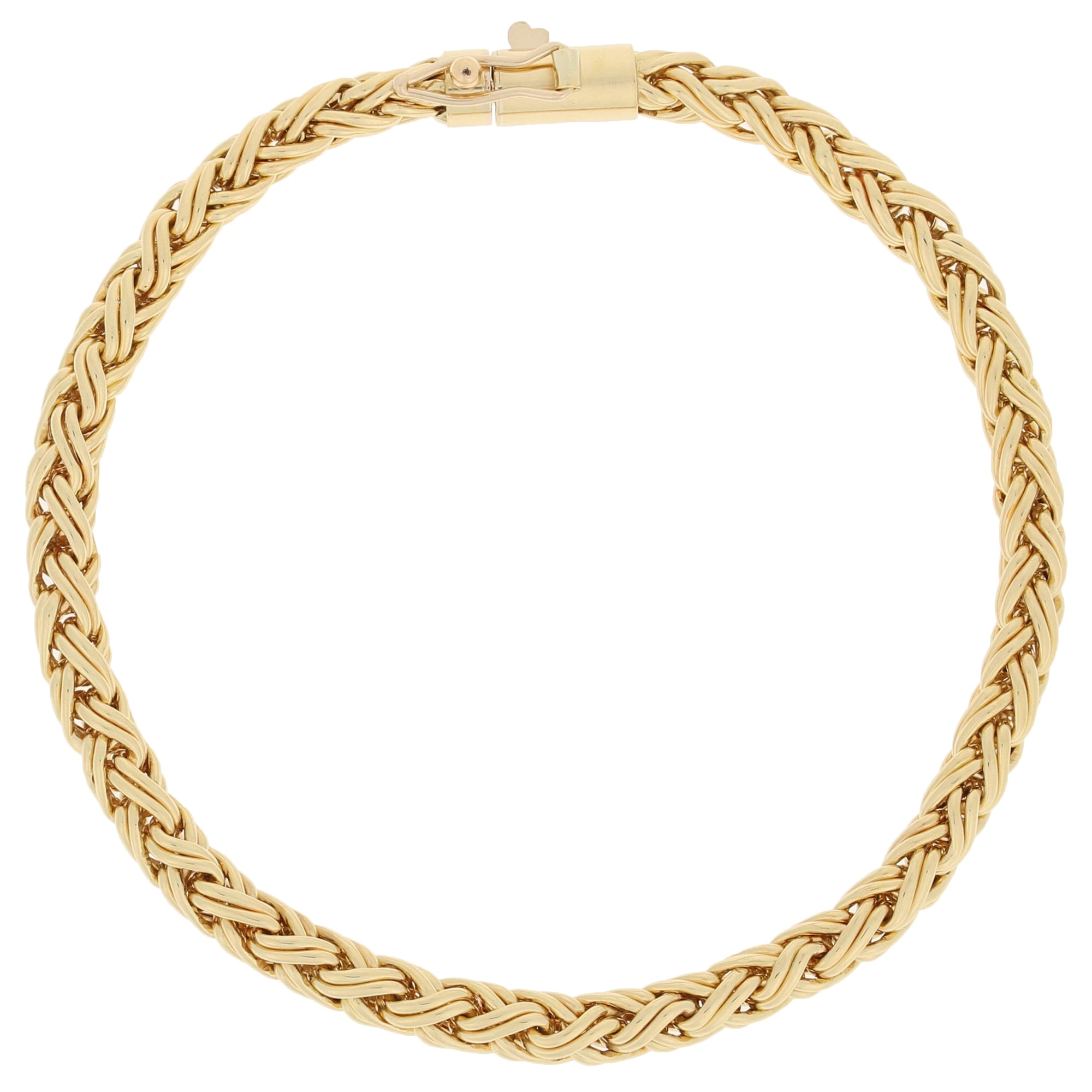 Tiffany & Co. Wheat Chain Bracelet
