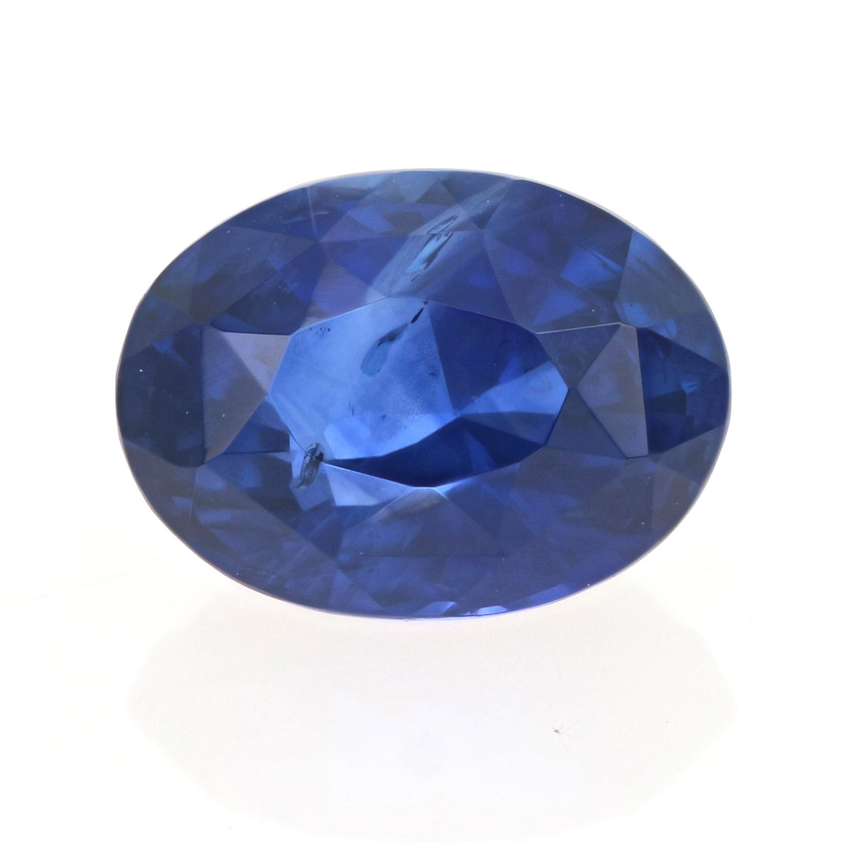 2.01ct Loose Blue Sapphire Oval