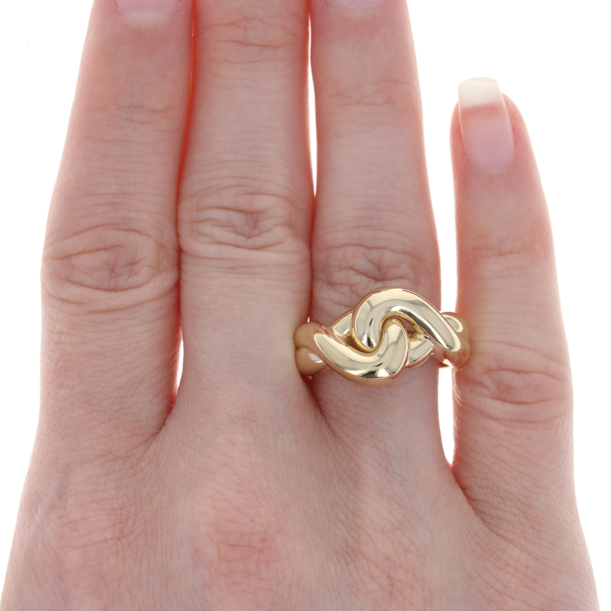 Love Knot Ring Yellow Gold