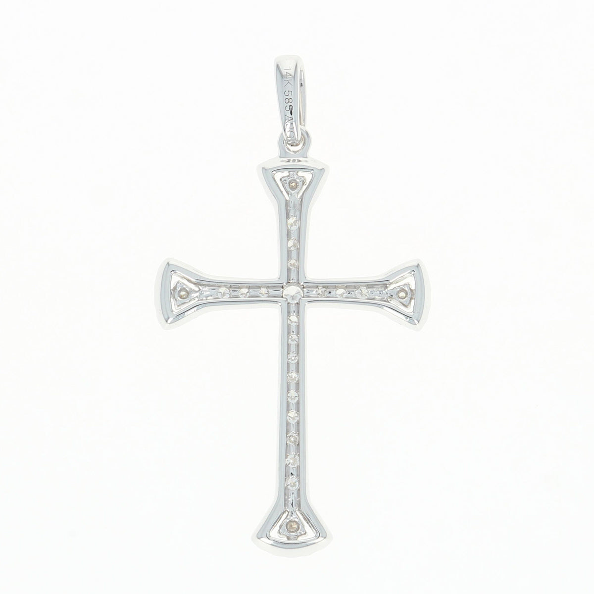 Diamond Cross Pendant .25ctw