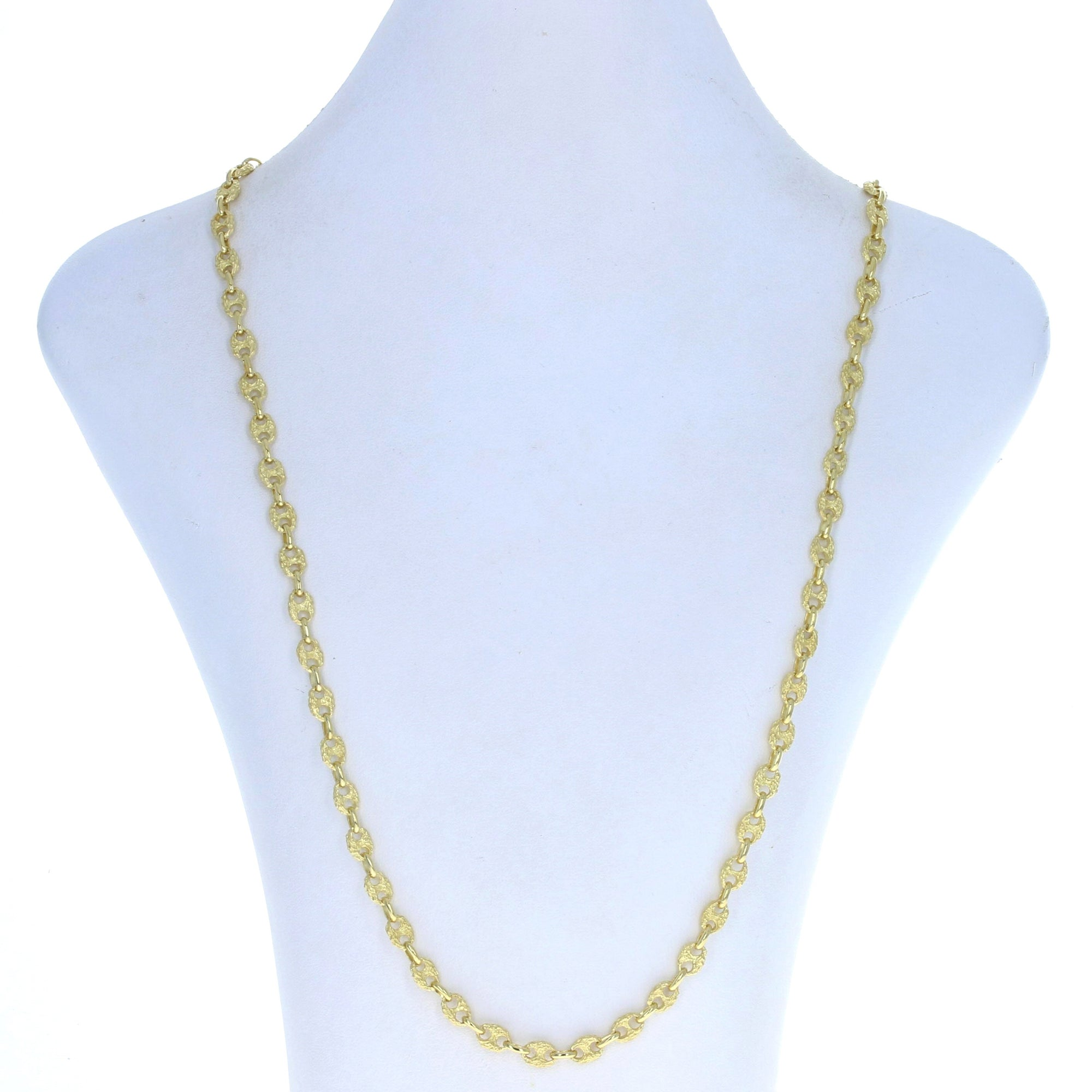 Gucci Link Chain Necklace Yellow Gold