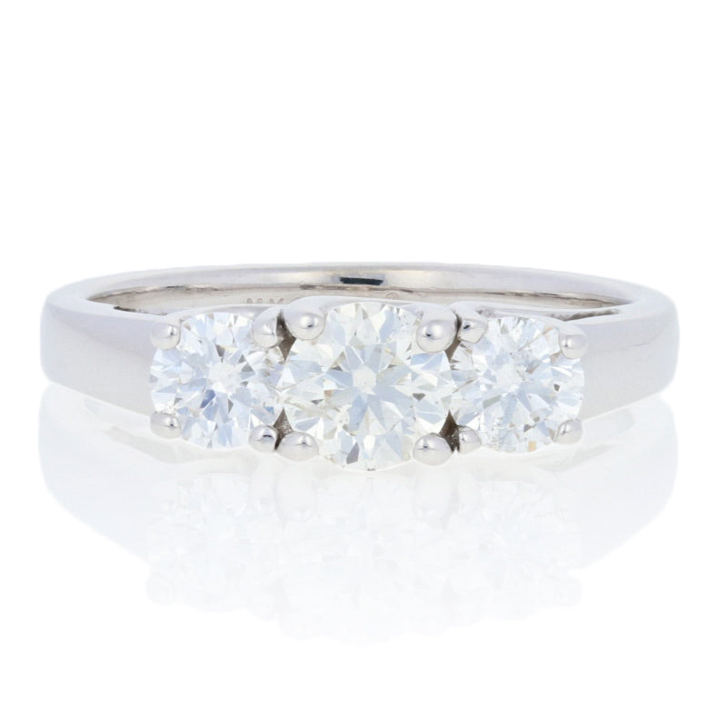 1.15ctw Diamond Engagement Ring White Gold