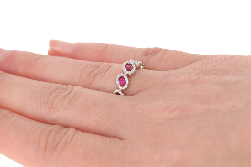 Ruby & Diamond Ring .63ctw