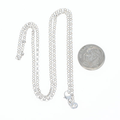 Rolo Chain Necklace 18""