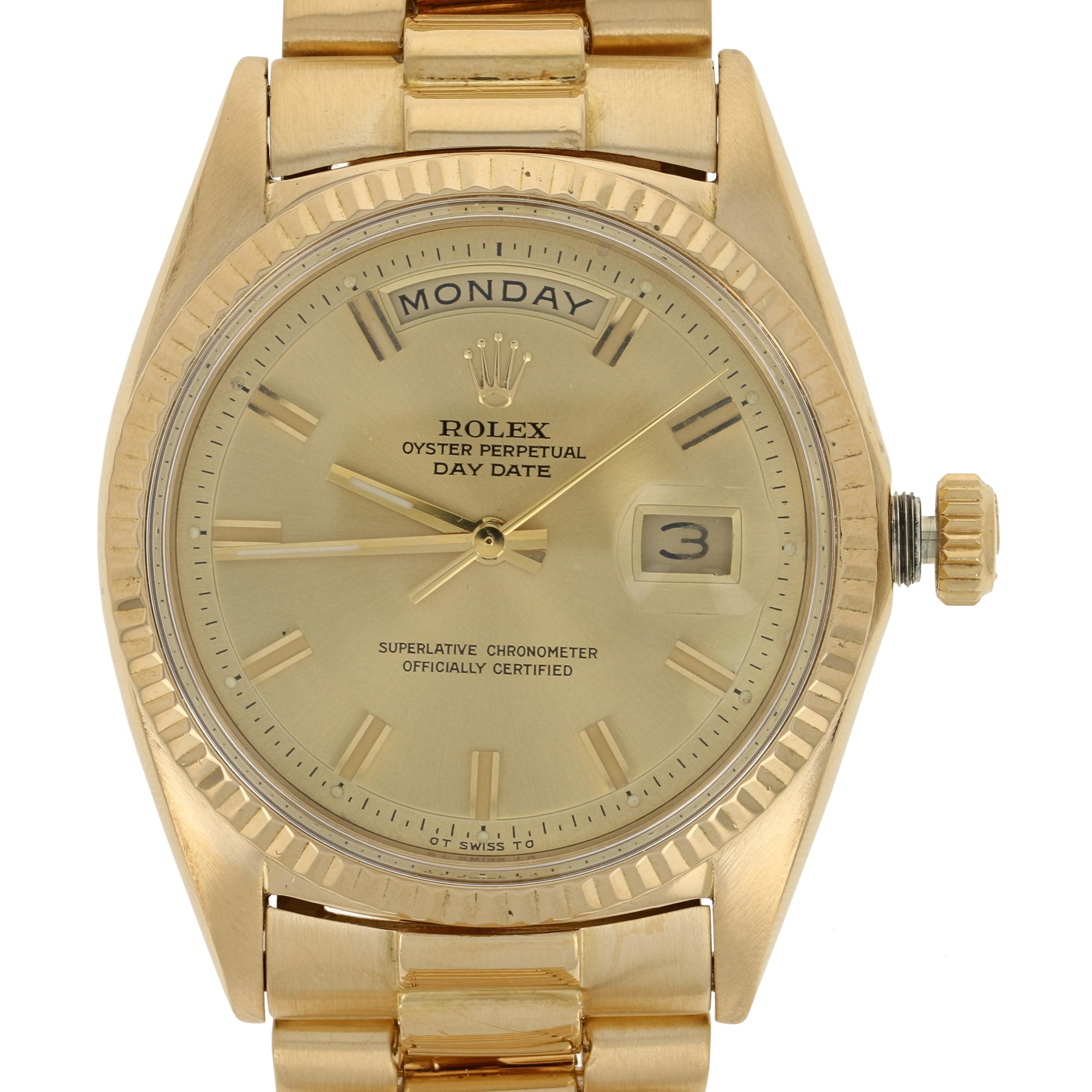 Rolex Oyster Perpetual Day Date Men's Watch 1808