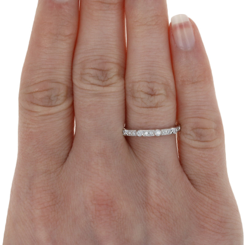 Diamond Eternity Ring White Gold