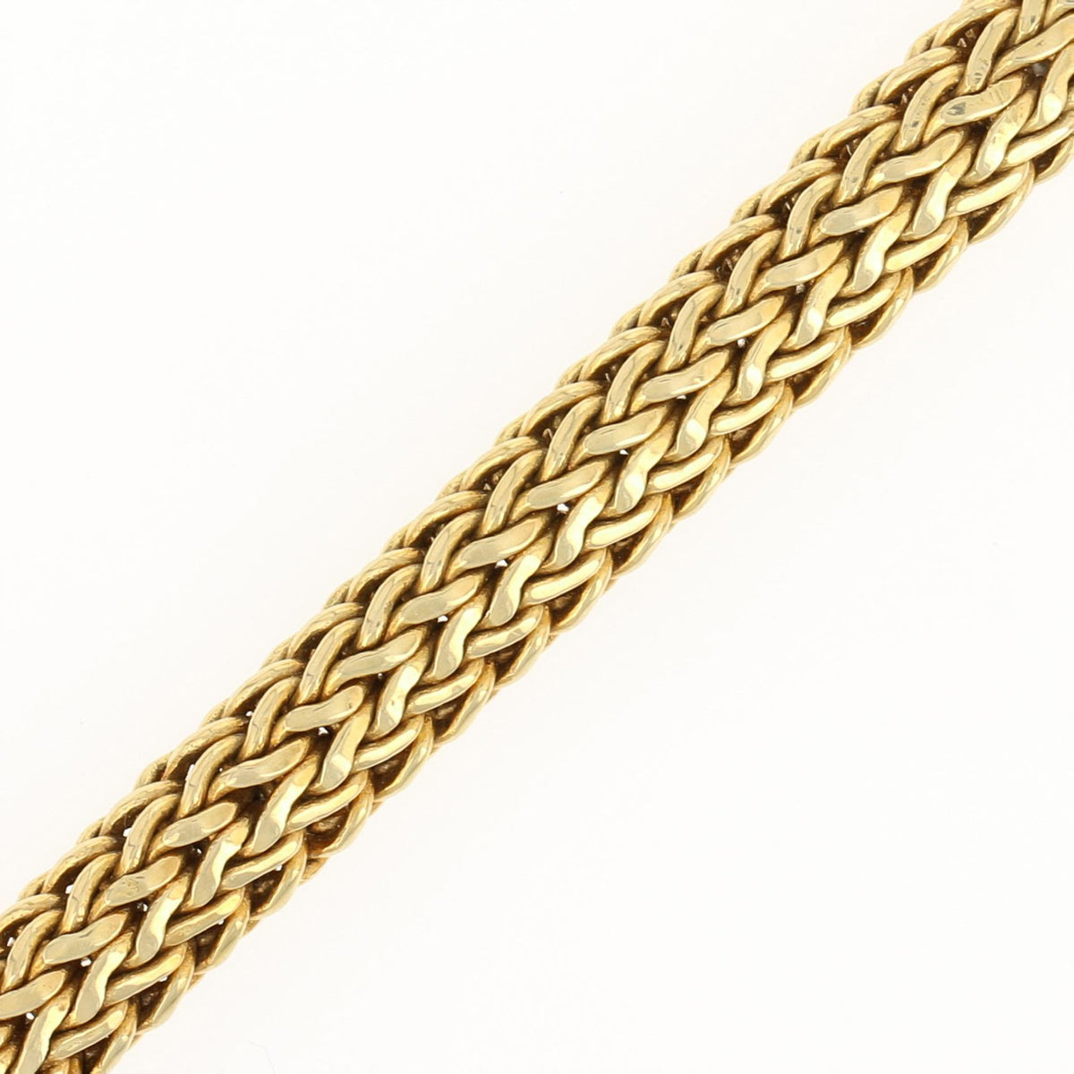 John Hardy Garnet & Diamond Classic Chain Necklace Yellow Gold