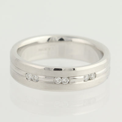 NEW Diamond Wedding Band .12ctw
