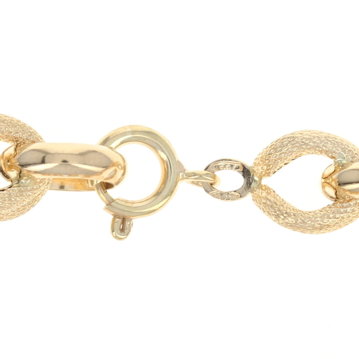 Fancy Chain Bracelet Yellow Gold