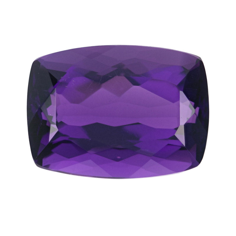 11.49ct Loose Amethyst Cushion