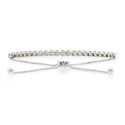 2.87ctw Diamond Bracelet White Gold