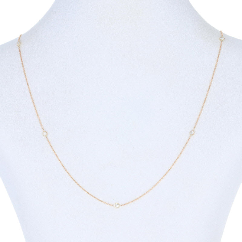 .40ctw Diamond Necklace Yellow Gold