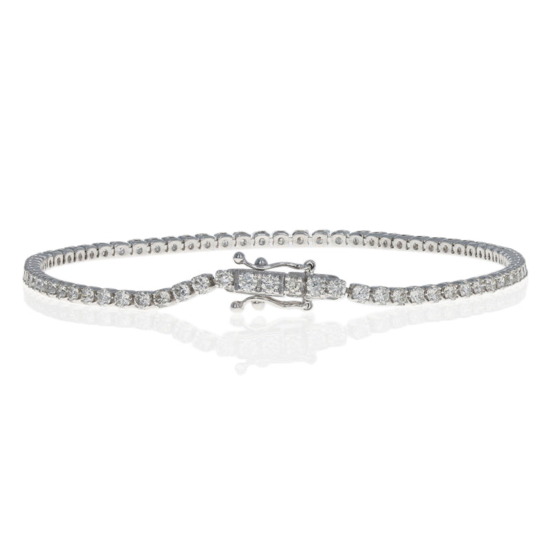 Round Brilliant Diamond Bracelet 2.00ctw