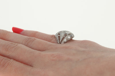 1.22ctw Diamond Art Deco Ring