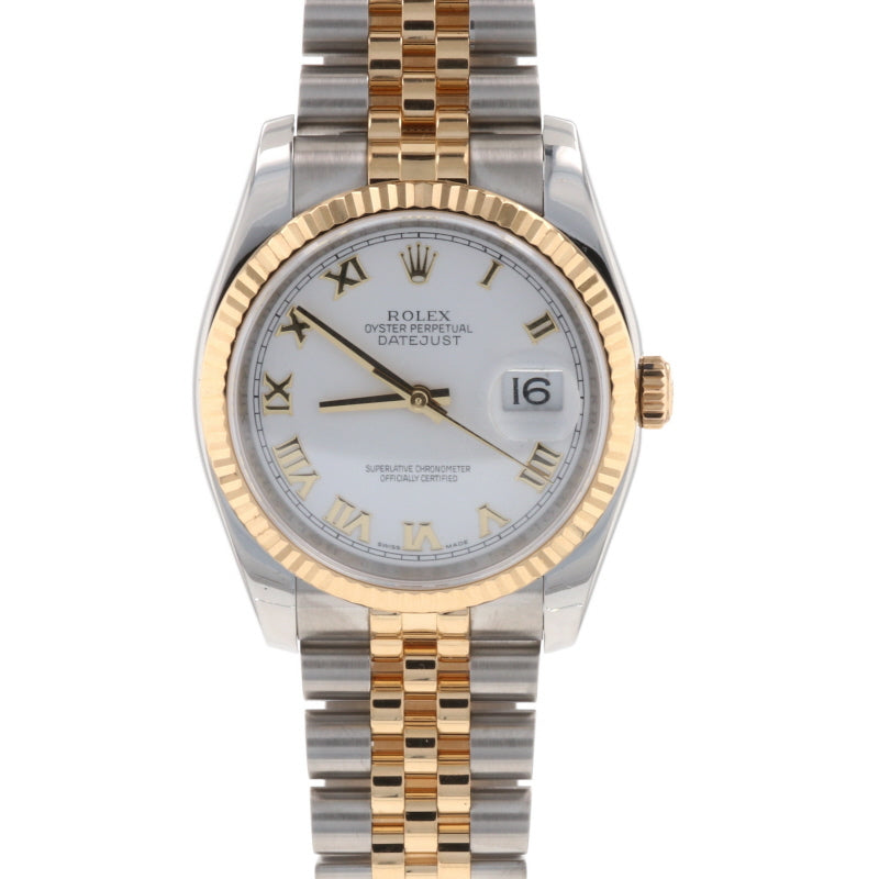 Rolex Oyster Perpetual Datejust Men's Watch 116233 Stainless Steel & Gold