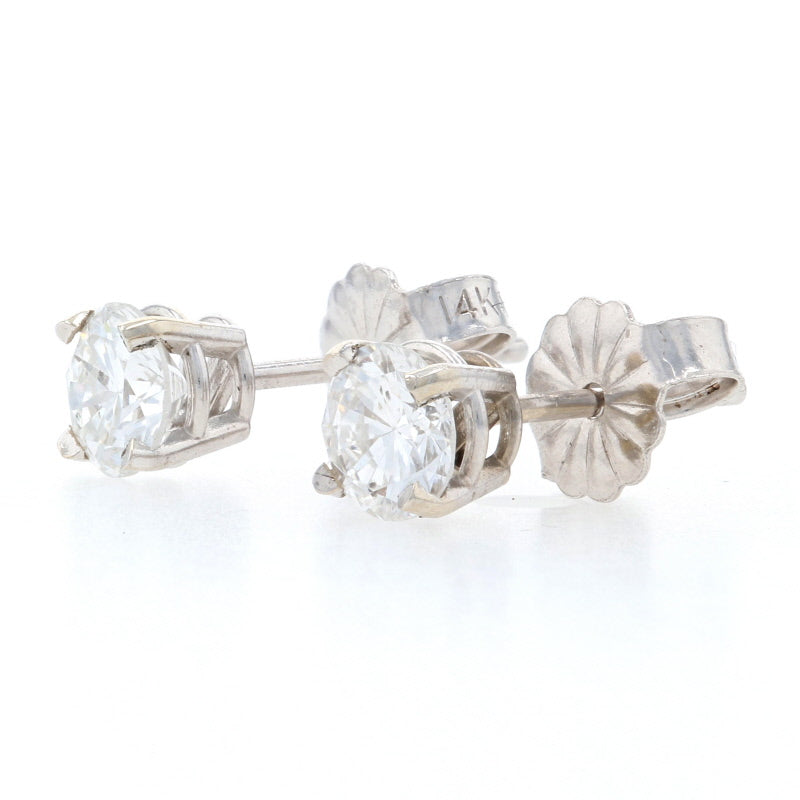 .78ctw Diamond Earrings White Gold