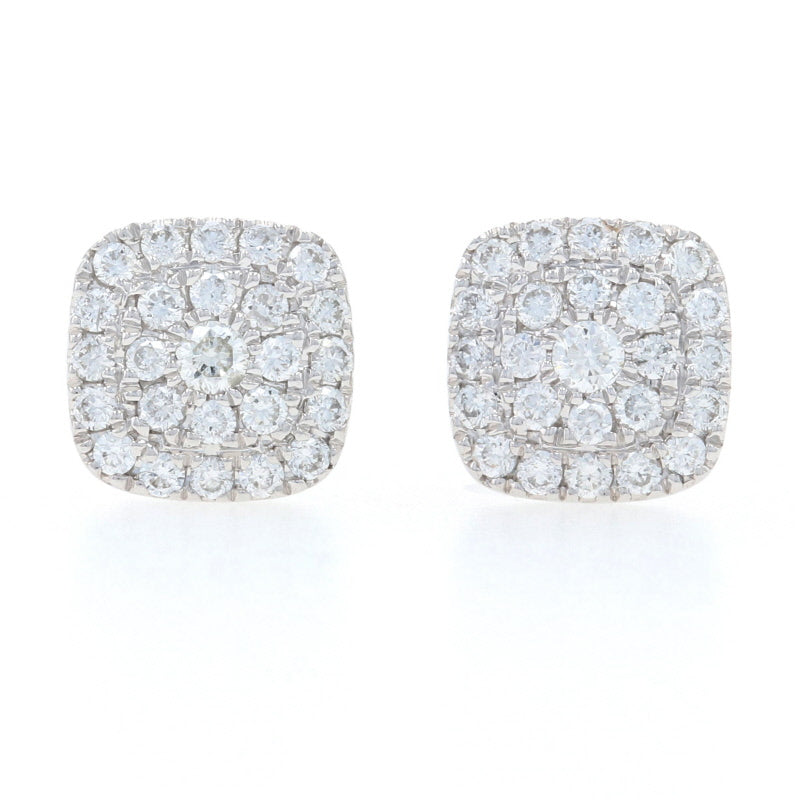 .33ctw Diamond Earrings White Gold