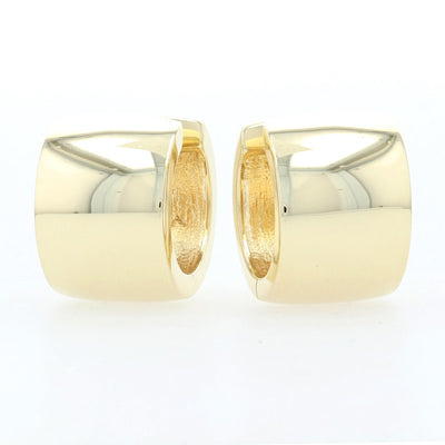 Hoop Earrings Yellow Gold