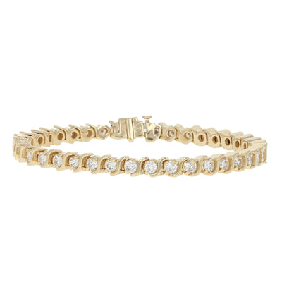 Diamond Tennis Bracelet 3.90ctw