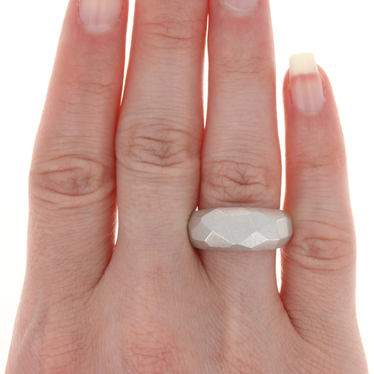 Bastian Inverun Statement Ring Sterling Silver