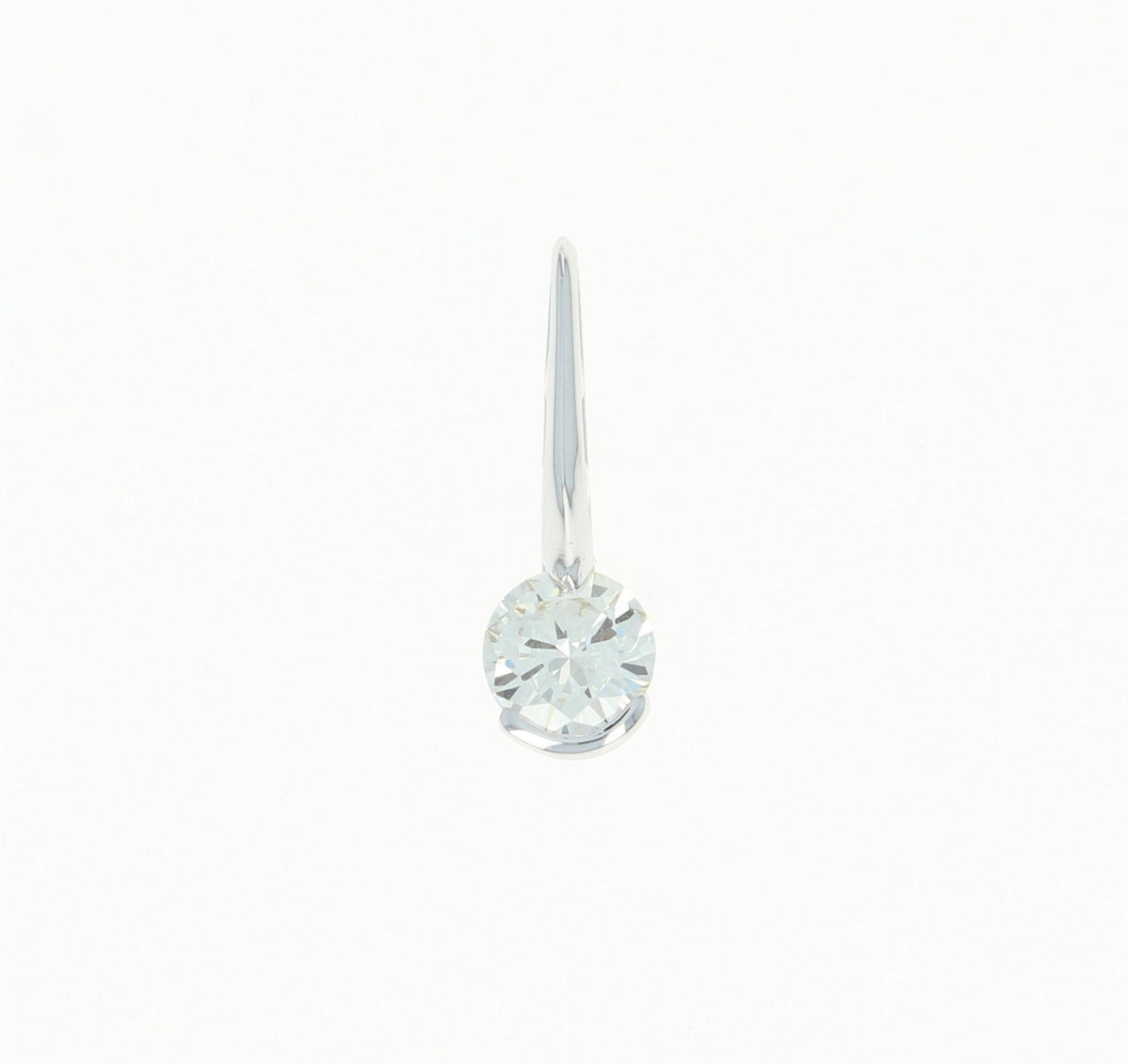 Diamond Solitaire Pendant  .75ct