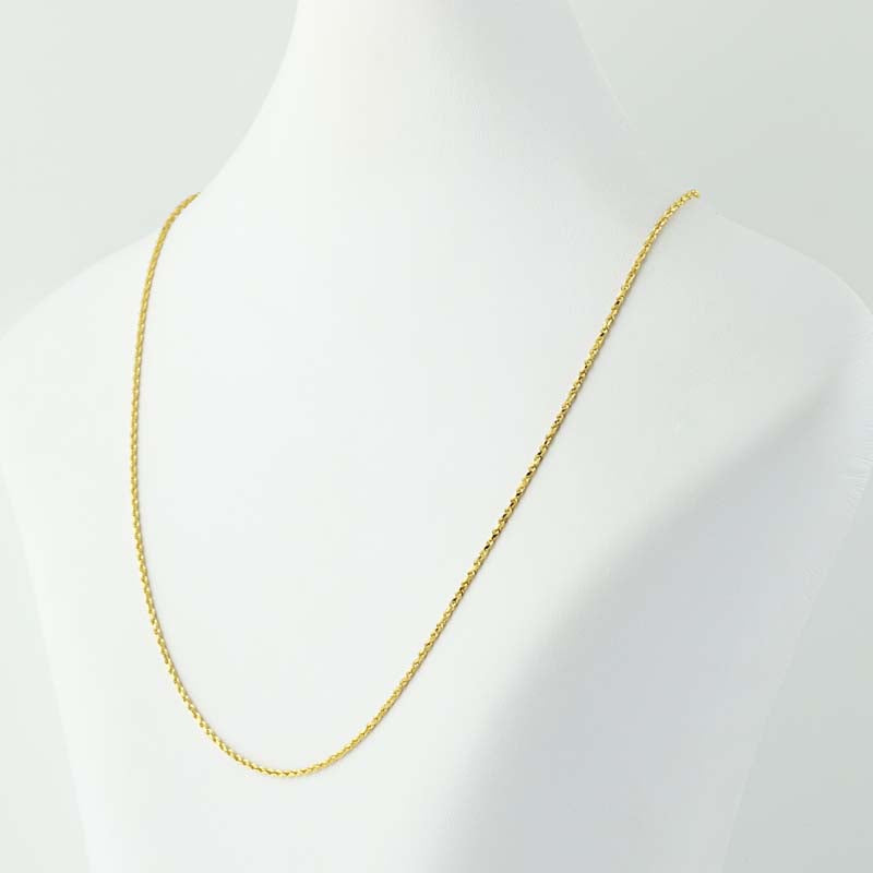 Rope Chain Necklace 18""