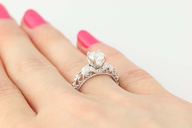 Diamond Engagement Ring 1.23ctw