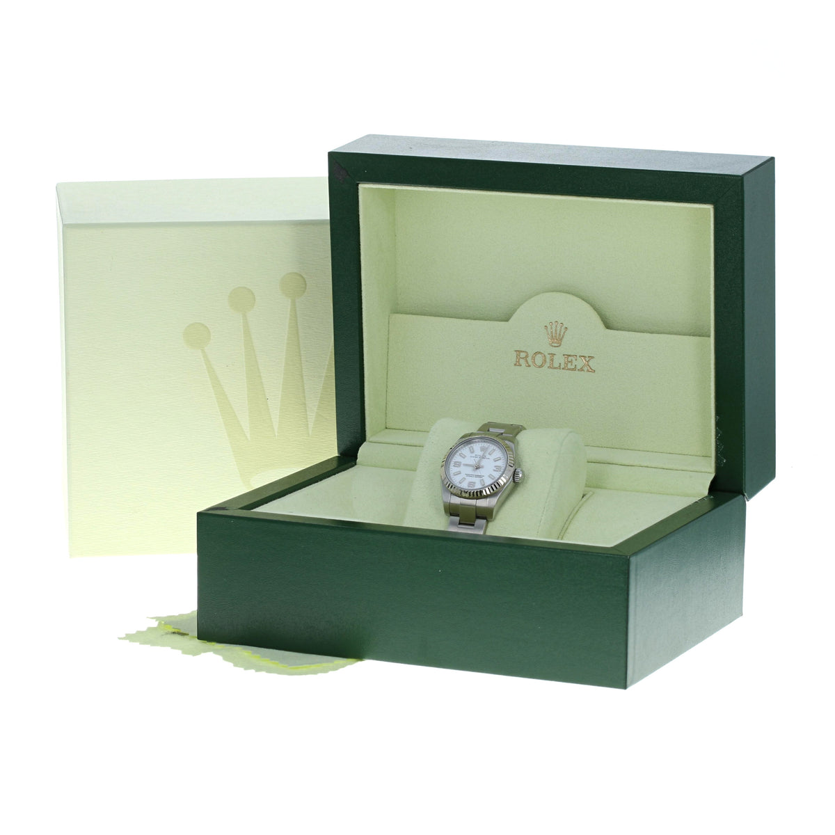 Rolex Oyster Perpetual Ladies Watch Stainless Steel 176234