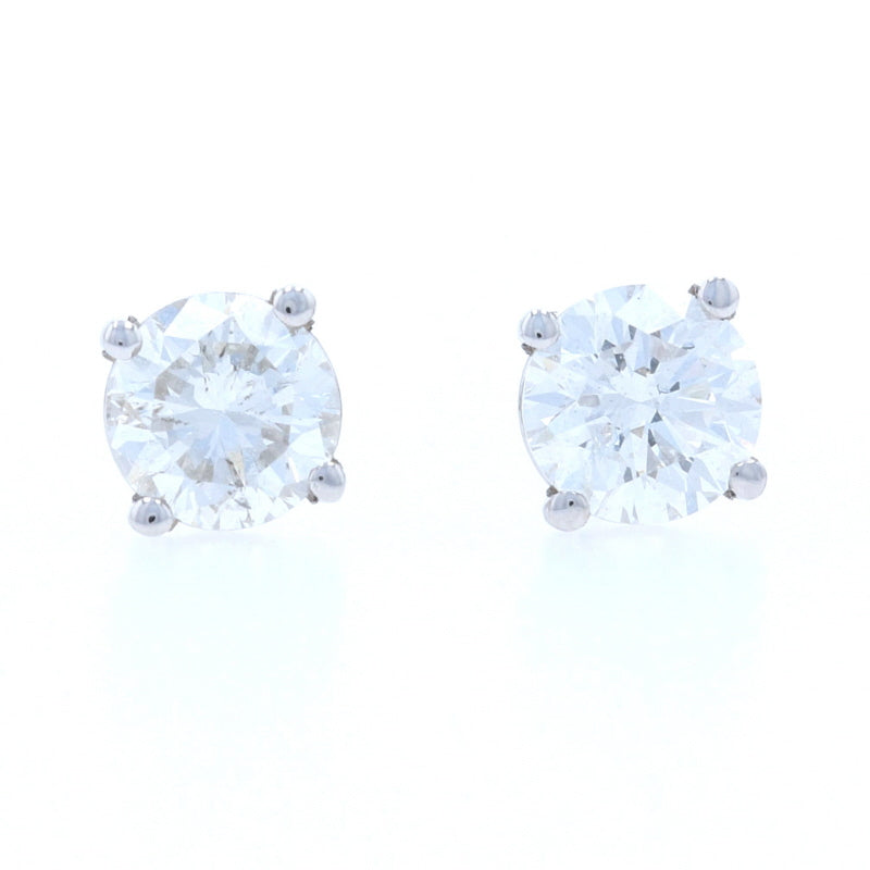.90ctw Diamond Earrings White Gold