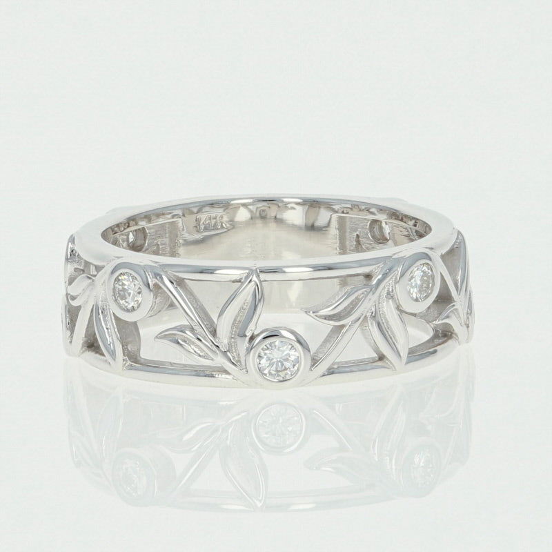 Diamond Vine Band Ring .30ctw