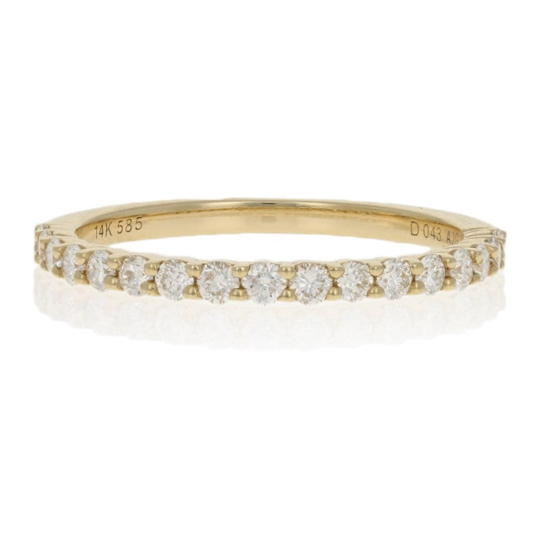 .43ctw Diamond Ring Yellow Gold