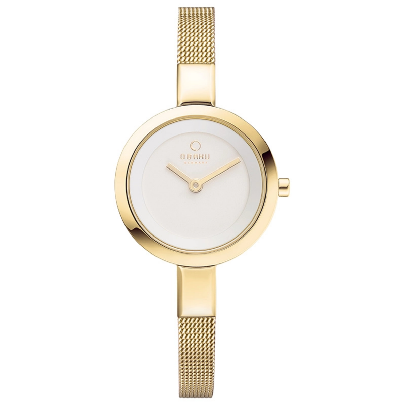 Obaku SIV Gold US Ladies Watch V129LXGIMG