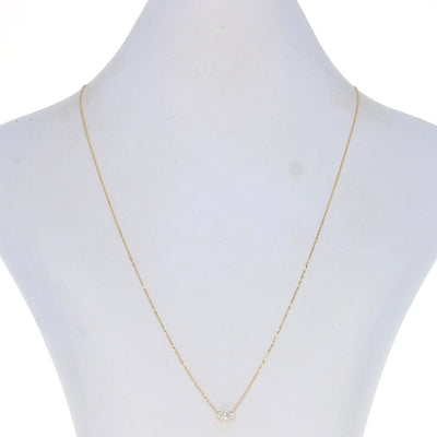 .51ct Diamond Necklace Yellow Gold